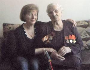 Исакова Клавдия Константиновна и дочь Воробева Ольга Николаевна (1)